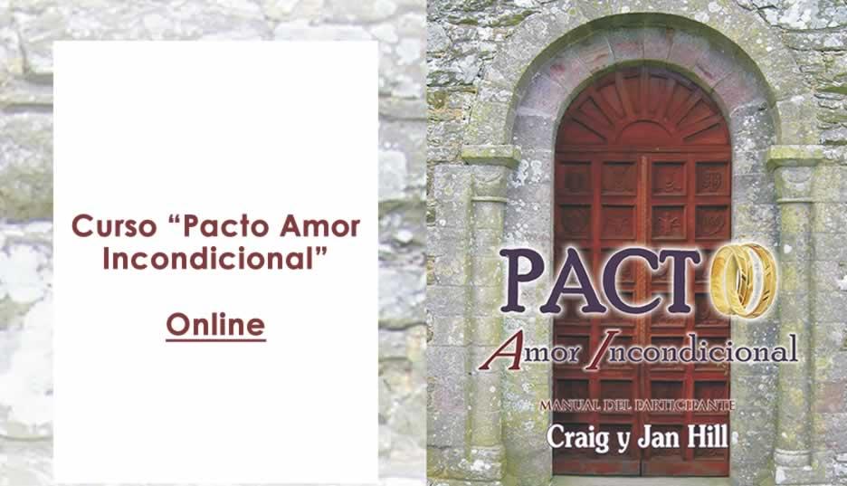 Seminario Online pacto con amor incondicional